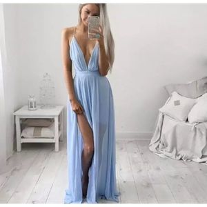 Dresses & Skirts - • Chiffon Maxi Dress •